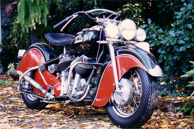 1948 Indian Chief Motorcycle Restoration