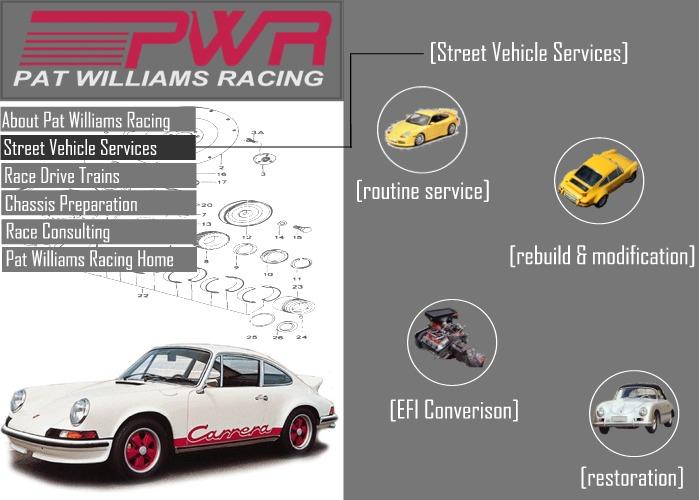 Street Vehicles Pat Williams Racing Porsche