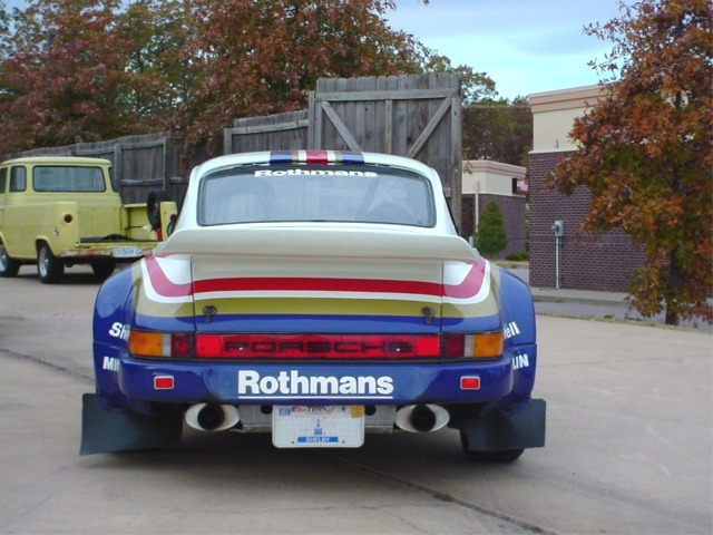 Pat Williams Racing Porsche Rothmans 911sc Rs